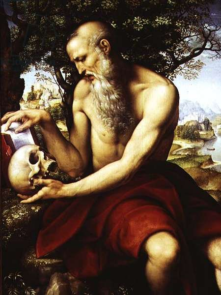 St. Jerome, c.1507-12 (oil on panel)