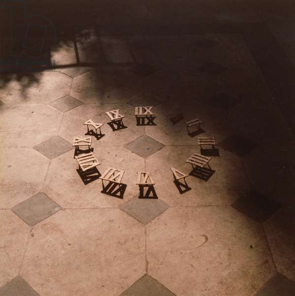 Roman Numerals on Floor