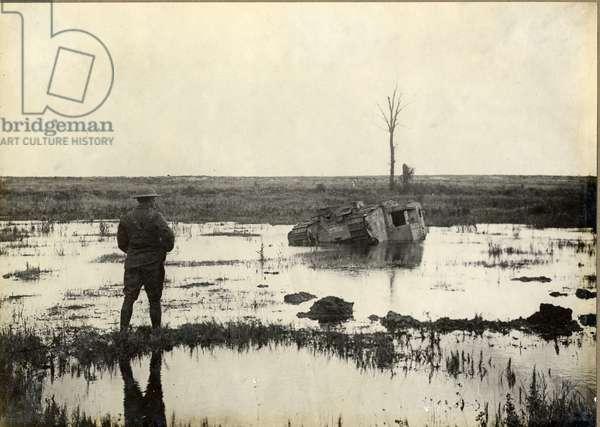 Enter the Tank, 1914-18 (gelatin silver print)
