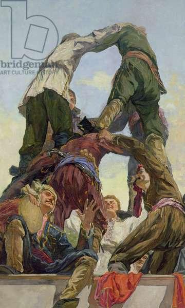 Dance Khorumi, 1961 (oil on canvas)