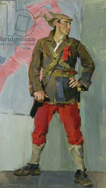 Join-Up: Actor for the Red Army, 1960 (oil on canvas)
