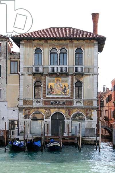 Palazzo Salviati, rebuilt 1924 (photo)