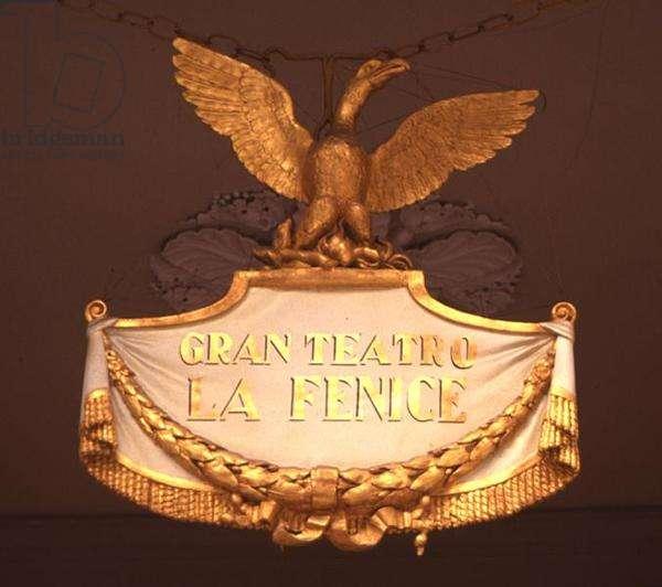 Phoenix Crest of Gran Teatro La Fenice (photo)