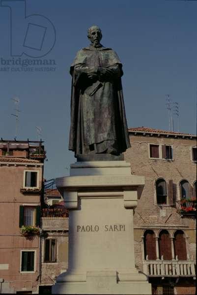 Statue of Fra Paolo Sarpi (1552-1623), 1892 (bronze)