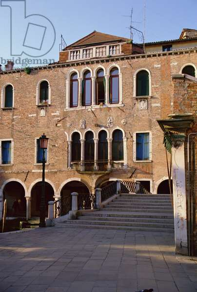 Palazzo Falier, near Campo dei Santi Apostoli, built late 13th century (photo)