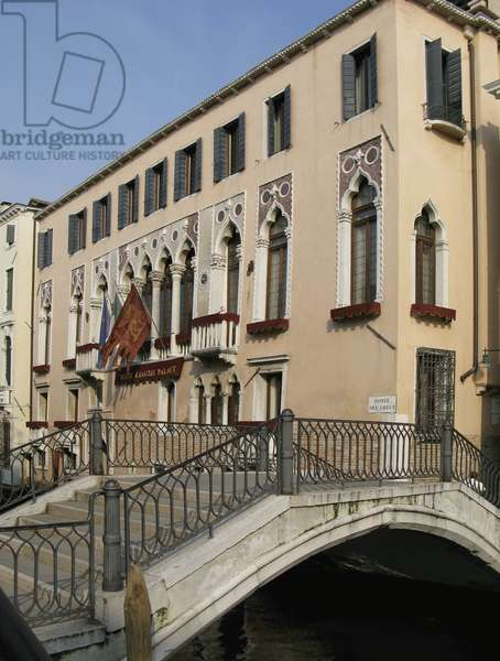 Palazzo Zorzi Liassidi, Rio di San Lorenzo (photo)