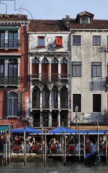 Palazzo Dandolo on the Grand Canal, birthplace of Doge Enrico Dandolo (1107-1205) (photo)