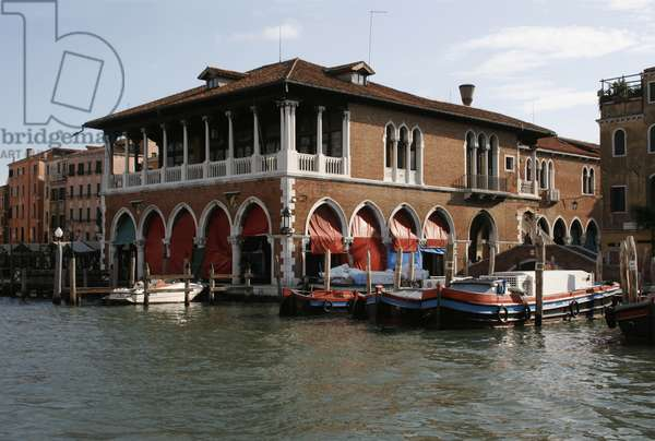 The Pescheria (Fish Market) at the Rialto (photo)