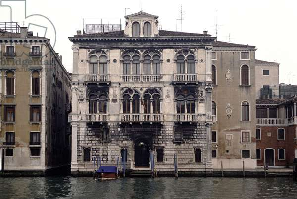 Palazzo Corner-Spinelli, begun 1490 (photo)