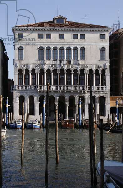 Palazzo Loredan on the Grand Canal and Riva del Carbon, built 12th century
