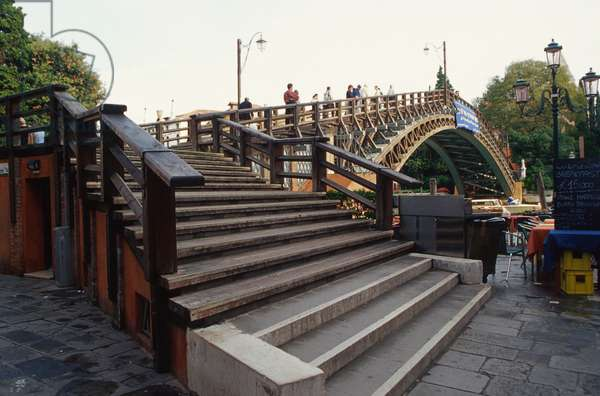 The Accademia Bridge, 1986 (wood)