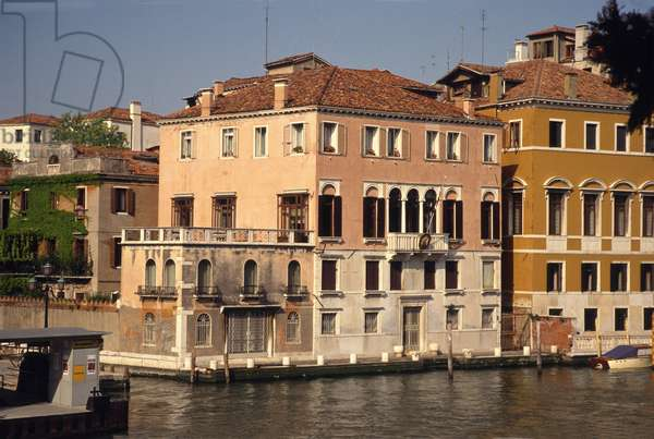 Palazzo Querini on the Grand Canal at Accademia (photo)