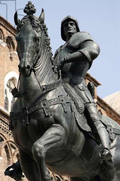 Equestrian Monument of Condottiere Bartolomeo Colleoni (bronze) (detail of 336135)