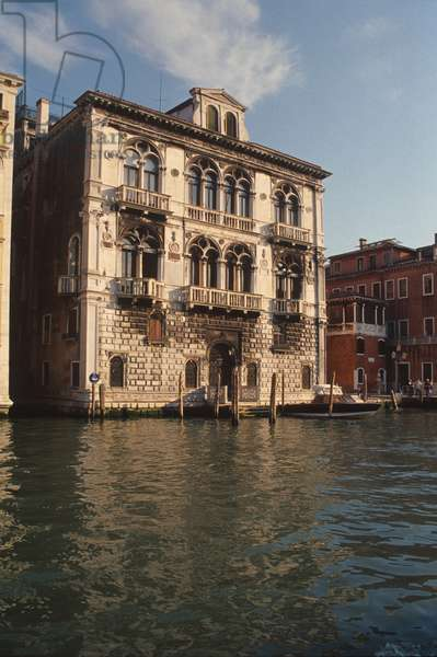 Palazzo Corner-Spinelli, begun 1490 (photo)
