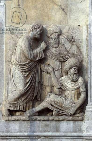 The Healing of Ananias (photo)