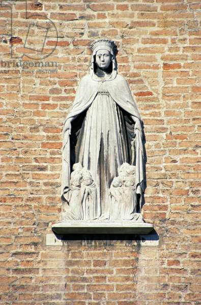 Madonna della Misericordia, from the facade (marble)