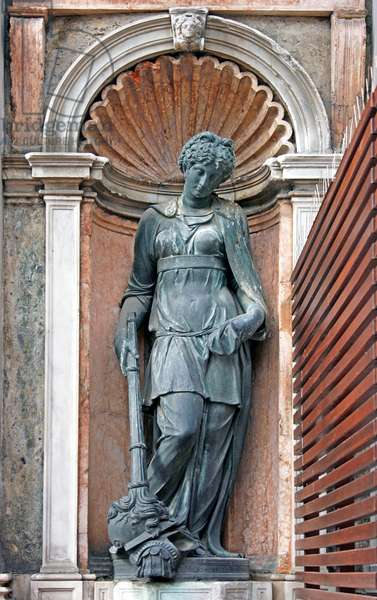 Sculpture of Peace on the Loggetta, at the base of the Campanile of San Marco, Venice (bronze)