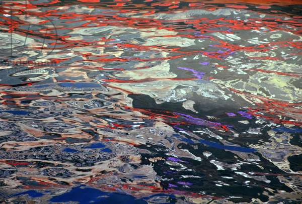 Water Reflections, Grand Canal (photo)