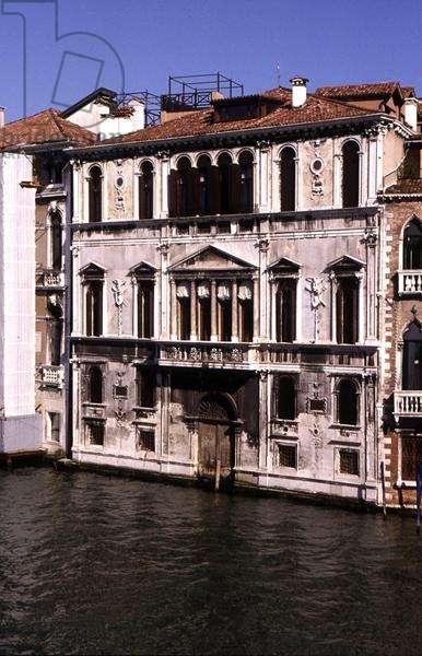 Palazzo Contarini delle Figure, built in 16th century (photo)