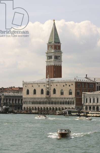 View of Bacino di San Marco, the Ducal Palace and the Campanile (photo)
