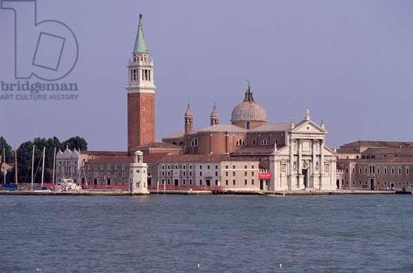 View of San Giorgio Maggiore, built by Andrea Palladio (1508-80) in 1564-80 (photo)