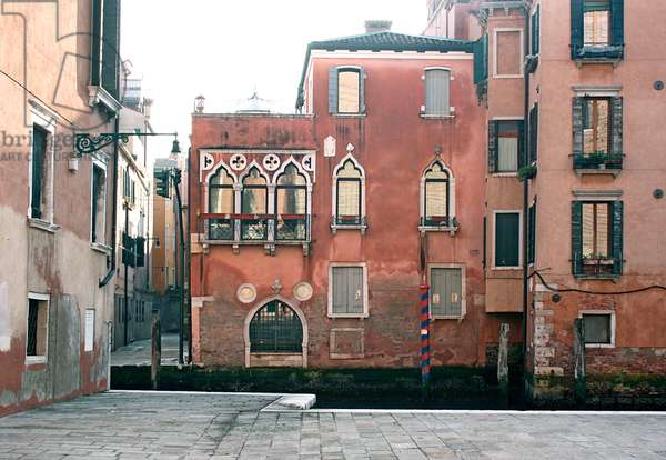 Casa Greci on the Rio di Ca' Foscari