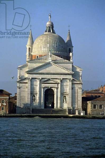 Exterior facade designed by Andrea Palladio (1508-80) assisted by Antonio da Pinte (1512-c.1595) 1577-92 (photo)