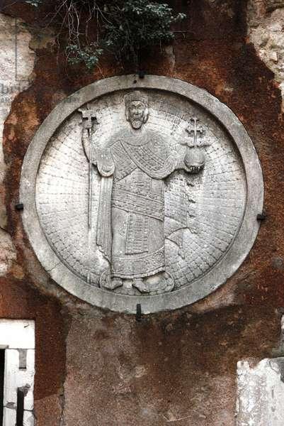 Medallion of a Byzantine Emperor (photo)