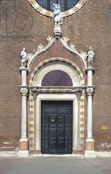 Portal of Madonna dell' Orto (photo)