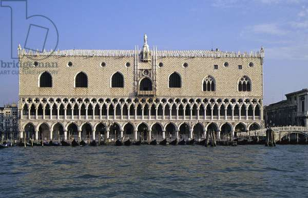 South Facade of the Doge's Palace (photo)