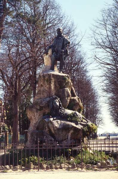 Monument to Giuseppe Garibaldi (1807-82)