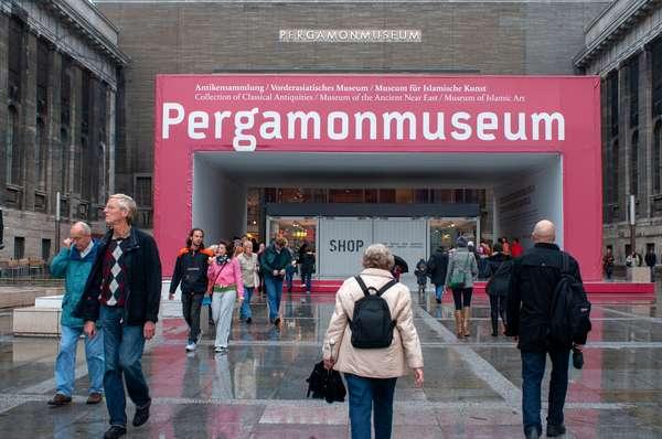 Pergamon Museum, Museumsinsel (Museum Island), Berlin-Mitte, Berlin, Germany (photo)