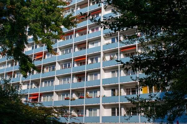 Apartment building Hansaviertel Berlin, Germany (photo)