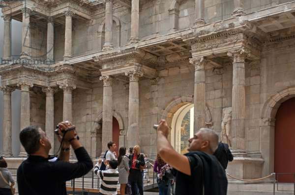 Market Gate of Miletus at Pergamon Museum, Museumsinsel (Museum Island), Berlin-Mitte, Berlin, Germany (photo)