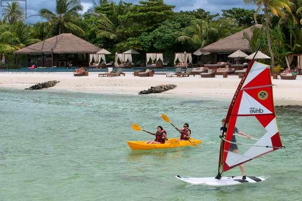 Water sports at The Residence Hotel and Resort, Gaafu Alifu Atoll, Maldives Islands (photo)