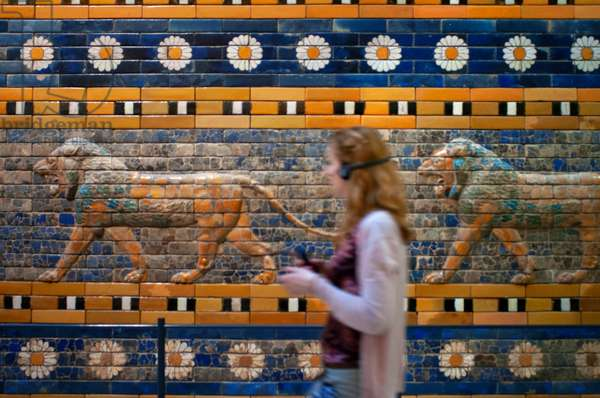 Reconstruction of the Processional Way of Babylon at Pergamon Museum, Museumsinsel (Museum Island), Berlin-Mitte, Berlin, Germany (photo)