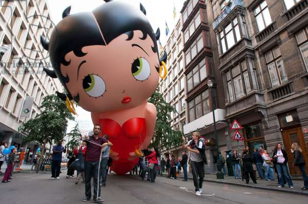 Balloon's Day Parade, Brussels, Belgium (photo)