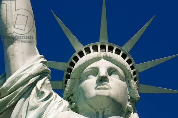 Statue of Liberty, Liberty Island, New York City, New York, USA  (photo)
