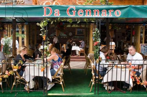 Da Gennaro Restaurant, Little Italy, New York, USA  (photo)