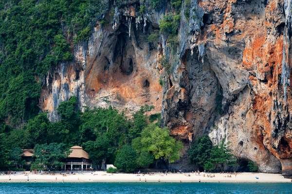 Happy Island, Hat Phra Nang Beach, Railay, Krabi Province, Thailand, Southeast Asia, Asia (photo)