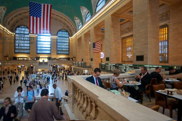Main Concourse in Grand Central Terminal Manhattan New York City inside the building interior Grand central station New York Grand central station NYC, USA (photo)