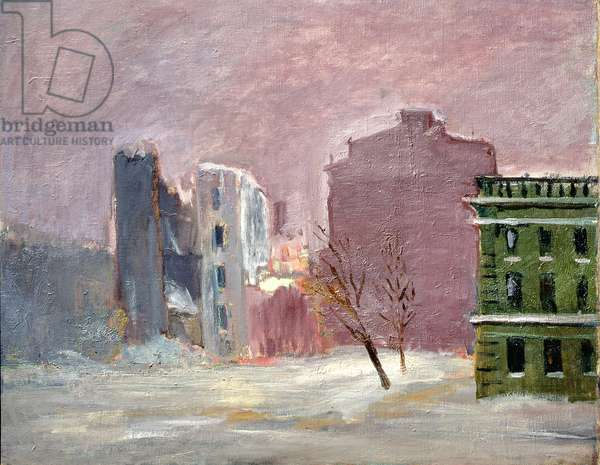 Blockaded Landscape, 1942-43 (oil on canvas)