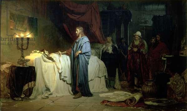 The Raising of Jairus's Daughter, 1871 (oil on canvas)