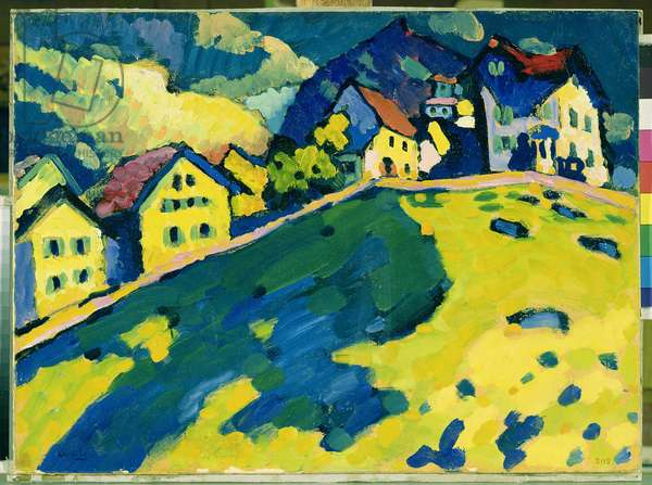 Summer Landscape, 1909 (oil on cardboard)