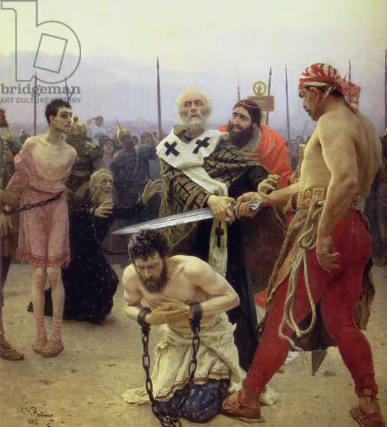 St. Nicholas Delivers Three Unjustly Condemned Men from Death, 1888 (oil on canvas)