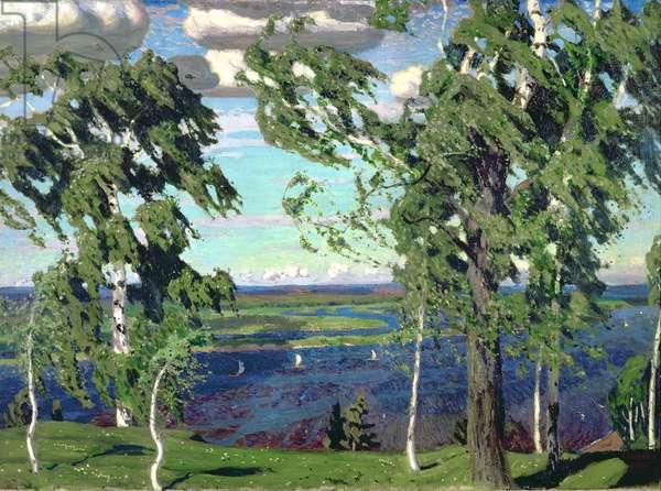 Green Sensation, 1904 (oil on canvas)