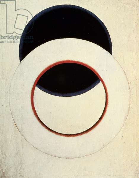 White Circle, 1918 (oil on canvas)