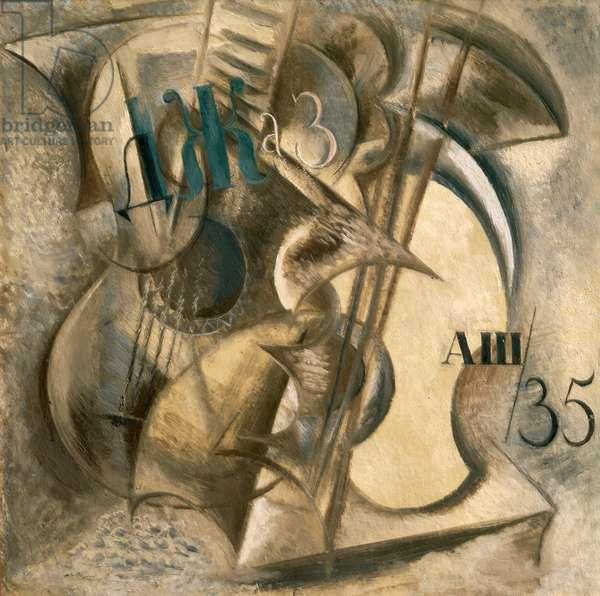Jazz, 1935 (oil on cardboard)
