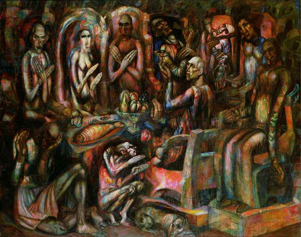 Feast of Kings, 1913 (oil on canvas)