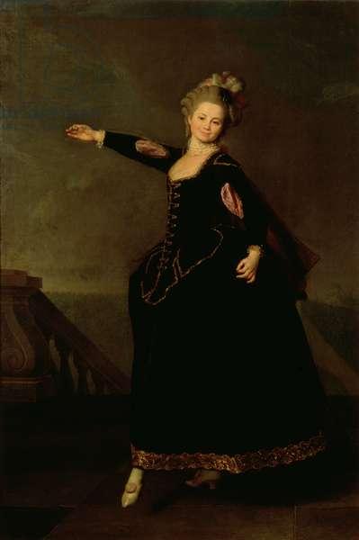 Portrait of Natalia Semenovna Borshchova (1758-1843) 1776 (oil on canvas)